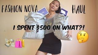 9ba6f137604 insanely huge try on haul fashion nova