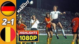 ФРГ Германия Бельгия 2 1 Обзор Матча Финал Чемпионата Европы 22 06 1980 HD