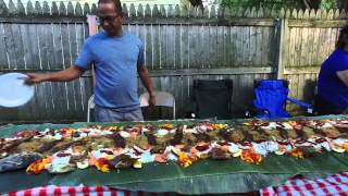 2015 rEuNiOn IL CD CA PA bOOdLe FiGhT bAcKyArD