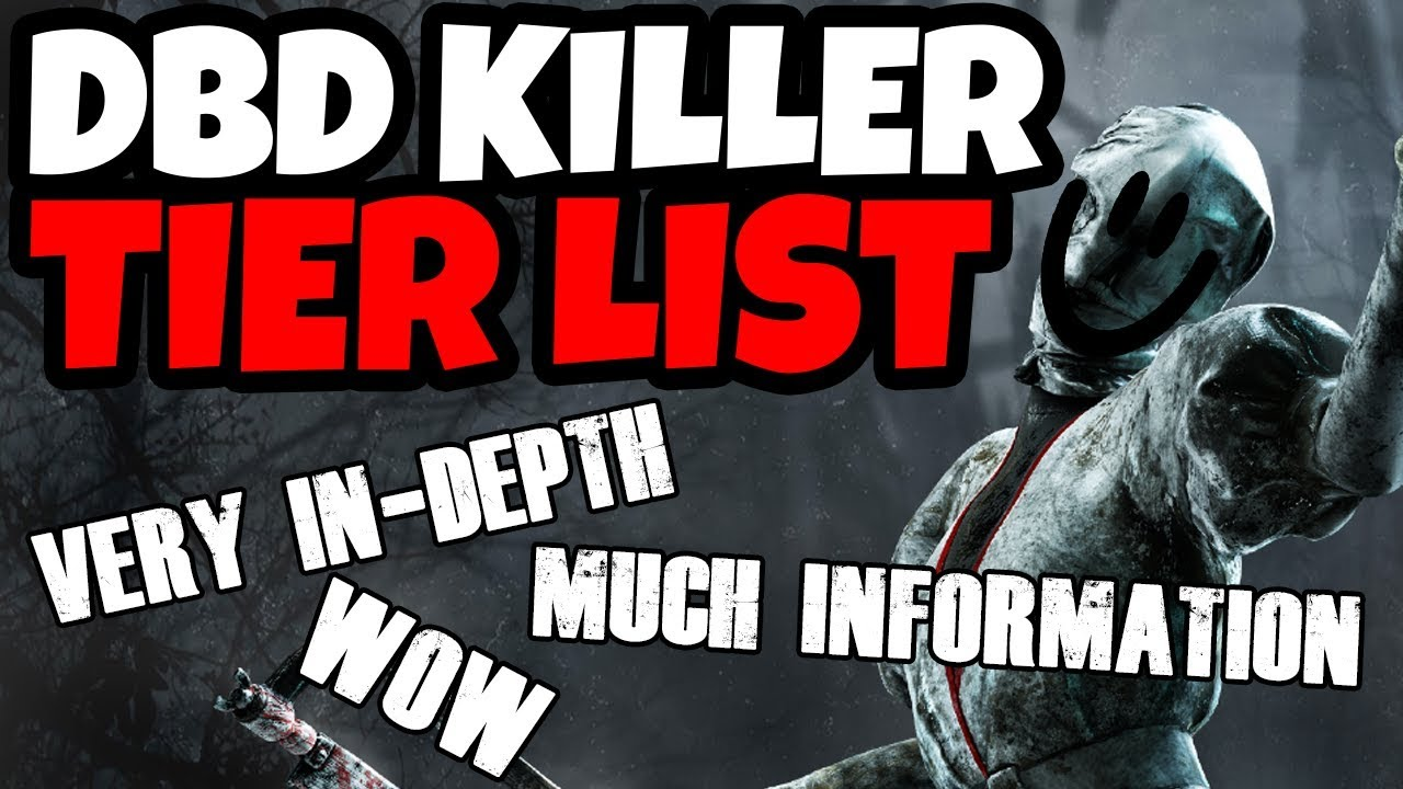 DBD KILLER TIER LIST! (Patch 3 1 1) 1 HOUR OF PURE IN DEPTH INFORMATION