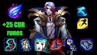 Rock3tt - Full Vladimir Gameplay Preseason 9 | Runes and Build | League of Legends