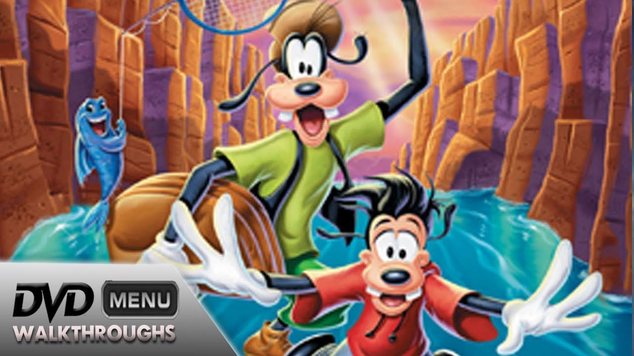 A Goofy Movie (1995, 2000) DvD Menu Walkthrough - YouTube