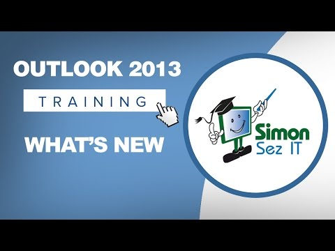 Microsoft Outlook 2013 Tutorial - What's New in Outlook 2013