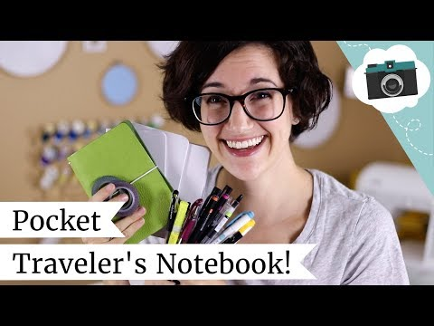 Starting A Pocket Traveler's Notebook + JetPens Haul | @laurenfairwx