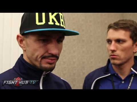 "Viktor Postol on what went wrong in Crawford fight, ""He was moving well, he didnt let me use my jab"""
