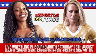 My Debut @ Wrestle Force
