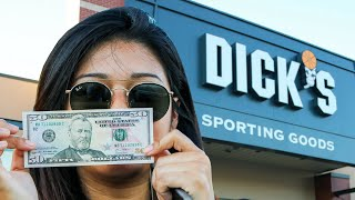 I Gave My Girlfriend $50 To Pick My Lures || Dick's Sporting Goods Summer Bass Fishing Challenge
