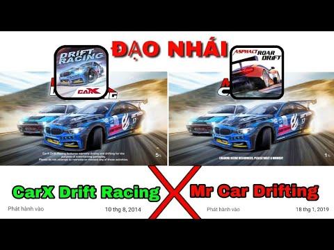 """Xuất hiện tựa game mới """"ĐẠO NHÁI"""" CarX Drift Racing – ngang nhiên ăn cắp bản quyền"""