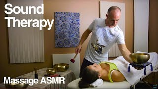 Sound Therapy & Meditation for Relaxation & ASMR + Tibetan Singing Bowl Music