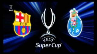UEFA Super Cup 2011 Intro (FC Barcelona vs FC Porto), no advertising