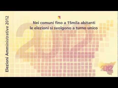Elezioni Amministrative 2012 -- Come si vota