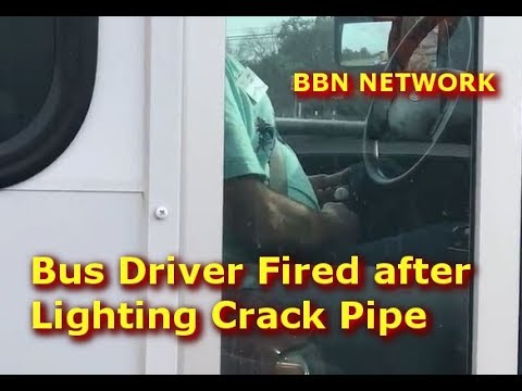 Bus Driver Fired After Lighting Crack Pipe