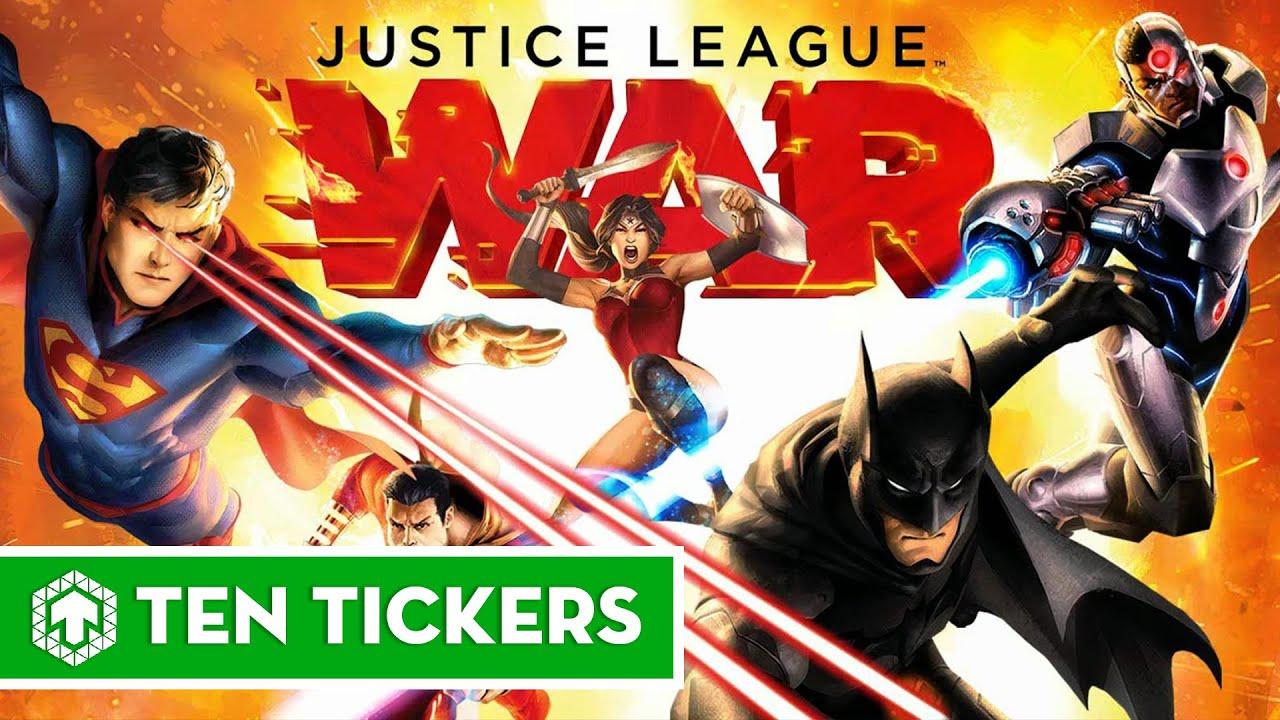 Top 6 bộ phim Justice League hay nhất mọi thời đại | Ten Tickers No. 18