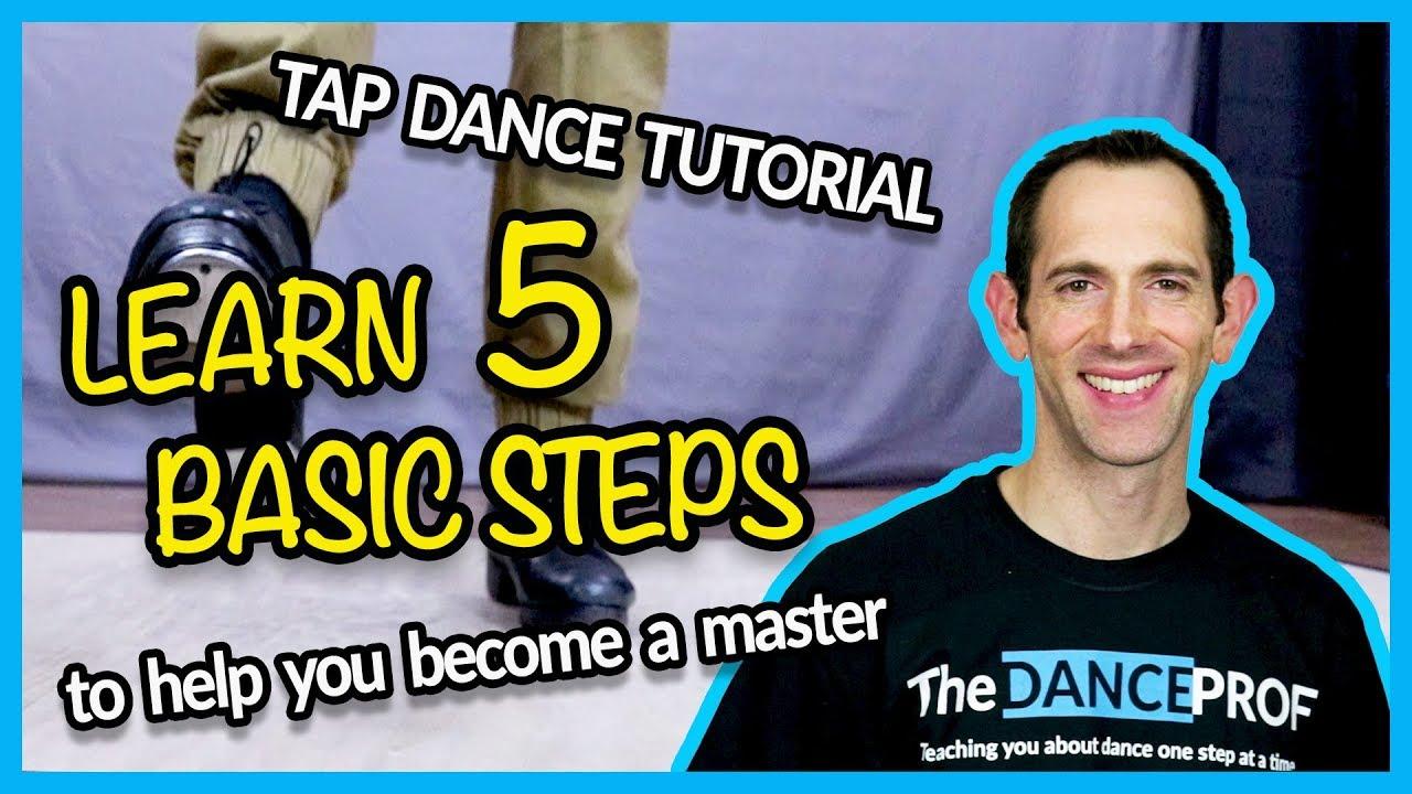 TAP DANCE BASICS - 5 Steps EVERY Beginner should Master