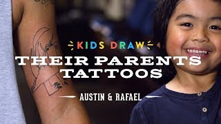Austin Designs a Tattoo for His Dad