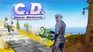 Rules of Survival + Fortnite = This Game! (Creative Destruction)