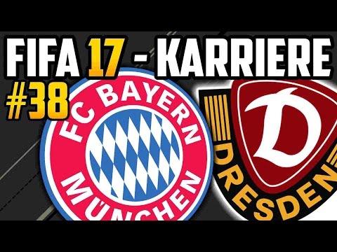 POKALFIGHT gegen den FC BAYERN - FIFA 17  Dresden Karriere: Lets Play #38