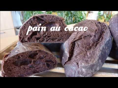 Recette du pain au cacao (chocolat)