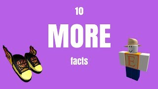 10 MORE facts about Roblox