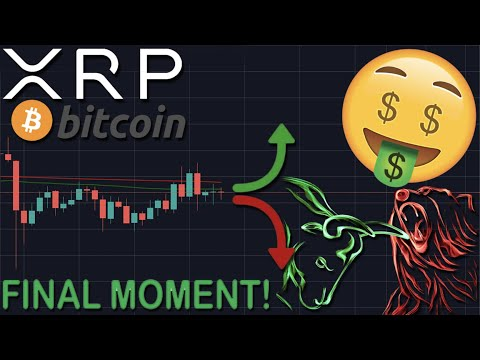 FINAL MOMENT'S FOR XRP/RIPPLE & BITCOIN! MASSIVE PRICE PUMP OR DUMP COMING | BE PREPARED FOR THIS!