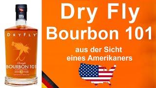 Dry Fly Bourbon 101 Strąight Bourbon Whiskey Verkostung von WhiskyJason