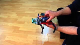 Altı Ayaklı robotun Android cihazdan Bluetooth ile kontrolü