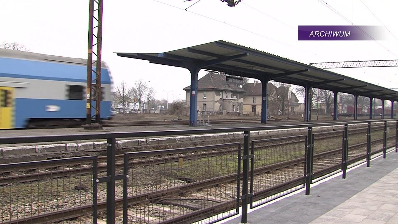 Piła: remont linii kolejowej Bydgoszcz-Kostrzyn przez Piłę