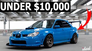 THE BEST JDM CARS FOR UNDER $10,000