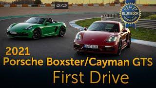 2021 Porsche 718 Boxster Cayman GTS | First Drive