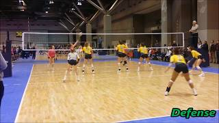 Kaylee Kuecker 2019 Libero Presidents' Day St. Louis 2018