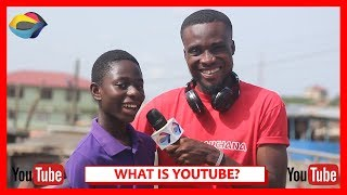 What is YOUTUBE? | Street Quiz | Funny African Videos | Funny Videos | African Comedy