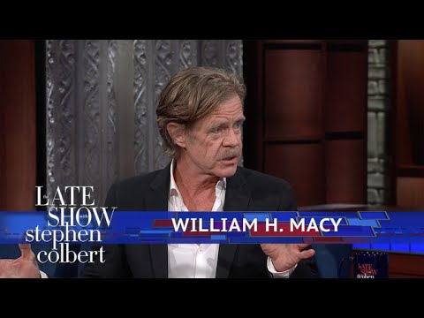 William H. Macy Is 'Dropping His Knickers Every Other Show'