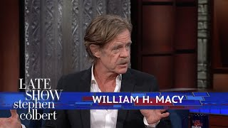 William H. Macy Is 'Dropping His Knickers Every Other Show' thumbnail