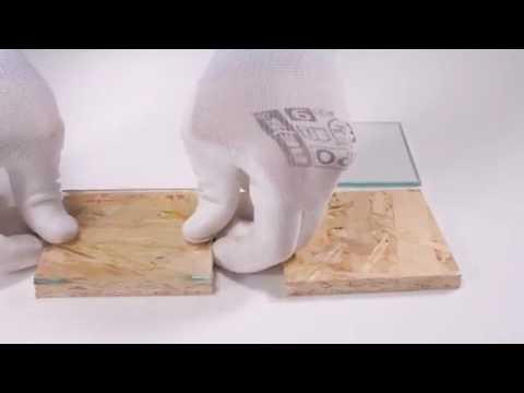Фанерование шпоном на контактный клей момент - YouTube