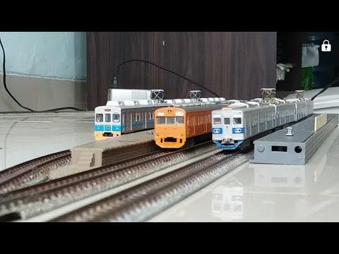 Miniatur KRL Express Jabodetabek