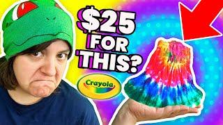 CASH or TRASH? Crayola LIES! Testing 3 Crayola Kits - Color Chemistry, Scribble Scrubbie