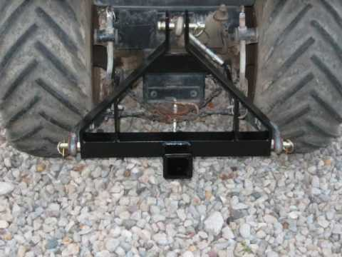 Category 0 3 Point Drawbar With Receiver Great For You
