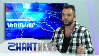 Vlad Mosesov in Shant TV, Armenia