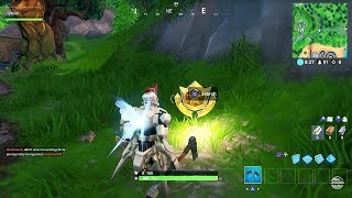 Fortnite Battle Royale - Season 9 Week 1 Secret Battle Star Location Guide (Utopia Challenges)
