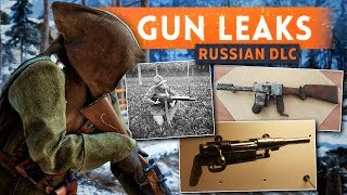 ► 5 NEW WEAPONS LEAKED! - Battlefield 1 In The Name Of The Tsar DLC (Russian DLC)