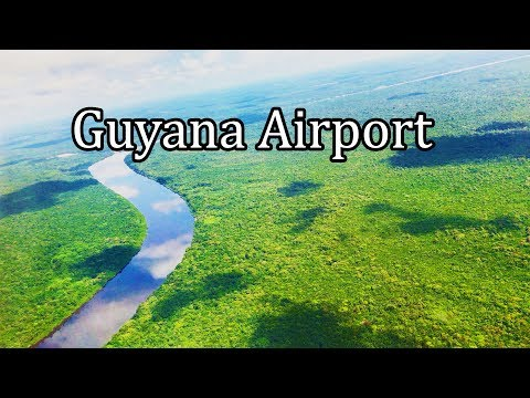 Guyana Georgetown Airport Landing and Take-Off (4K)- Sept 2017