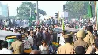 Tamil Nadu Muslims protest against the American Embassy in Chennai