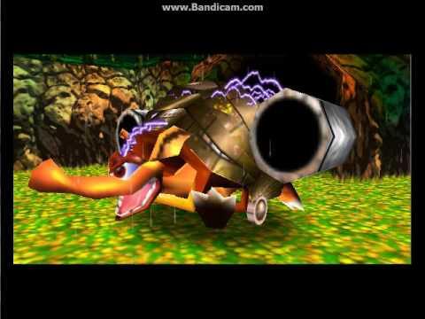 Donkey Kong 64: Jungle Japes Boss Armydilio (1st Boss ...  Donkey Kong 64:...
