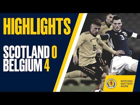 HIGHLIGHTS   Scotland 0-4 Belgium