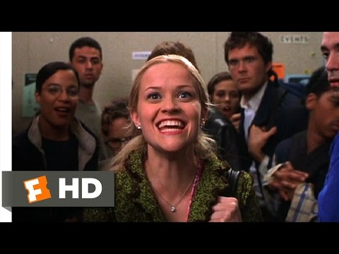 Legally Blonde (8/11) Movie CLIP - Awarded An Internship (2001) HD