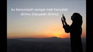 Ungu feat Rossa - Kupinang kau dengan Bismillah (lyric video)