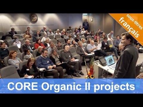 CORE Organic: Research Seminar in Stockholm (Oct 2014)