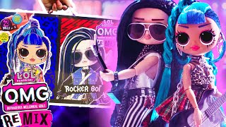OMG Remix 2 Pack Punk Girl Rocker Boy First Official OMG BOY!