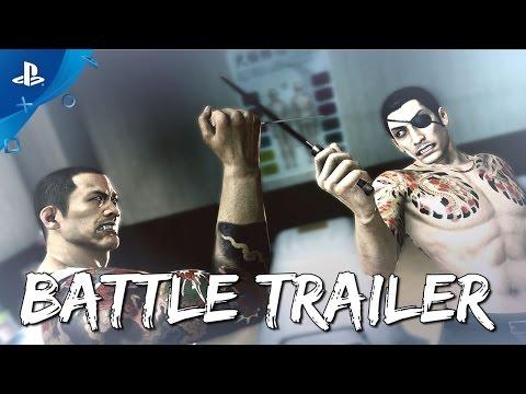 Yakuza 0 - Battle Systems Trailer | PS4