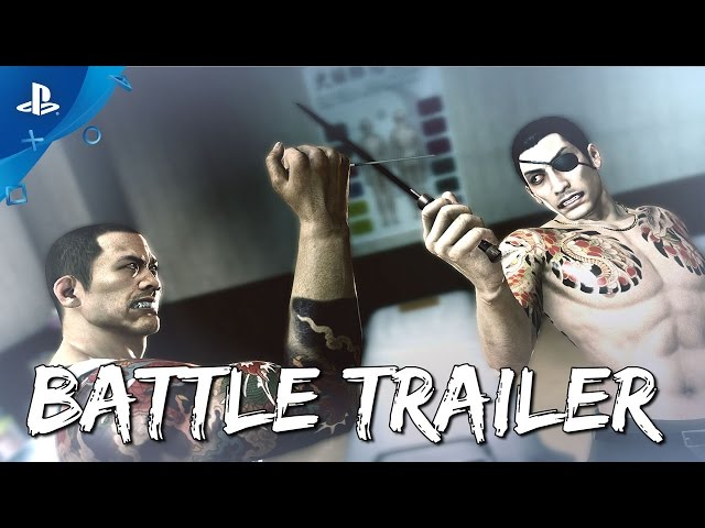 Yakuza 0 - Battle Systems Trailer | PS4